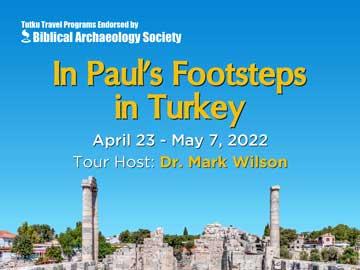 IN PAUL'S FOOTSTEPS IN TURKEY