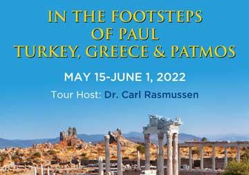 IN THE FOOTSTEPS OF PAUL TURKEY & GREECE