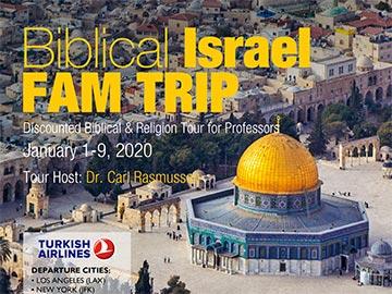 Israel Fam Trip
