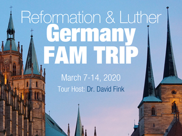 Reformation & Luther Germany Fam Trip